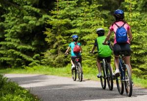 Mar-i-Munt - location de vacances Pyrénées-Orientales - Cyclisme en famille