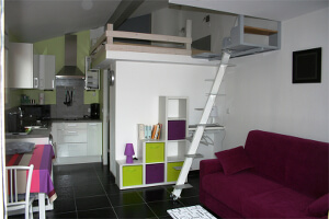 Location de vacances en Languedoc-Roussillon - L'appartement/Studio