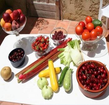 Les fruits et légumes en juin - Location vacances (66)