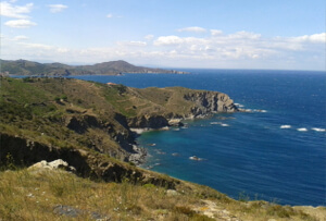 La côte de Vermeille - proche de votre location de vacances à Banyuls dels Aspres
