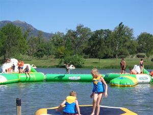 Activité en famille : Parc nautique de Saint Jean Pla de Corts